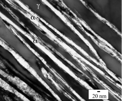bulk nanostructured steel