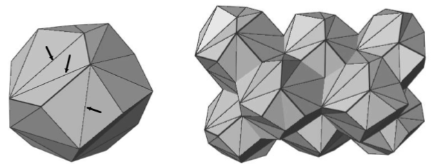 Topology of the deformation of a non uniform grain structure for Uniform space topology