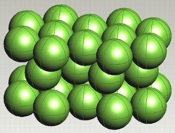 hcp titanium lattices