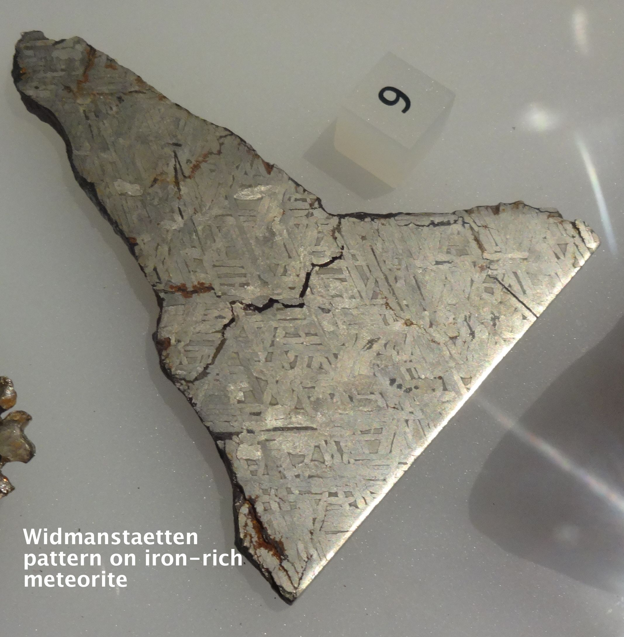 Widmanstatten Microstructures In Meteorites